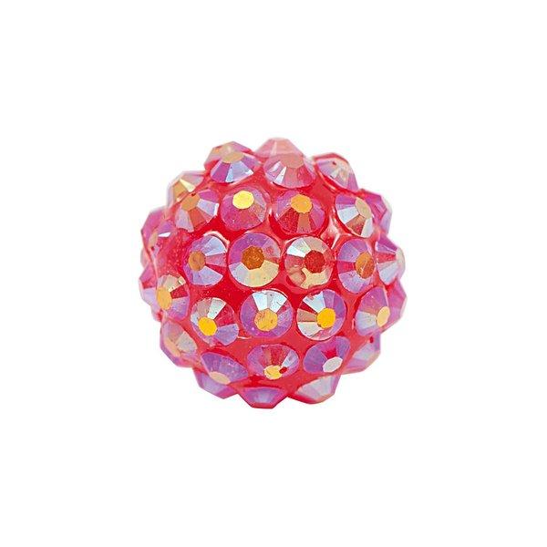 Rico Design Strasskugel pink 17mm