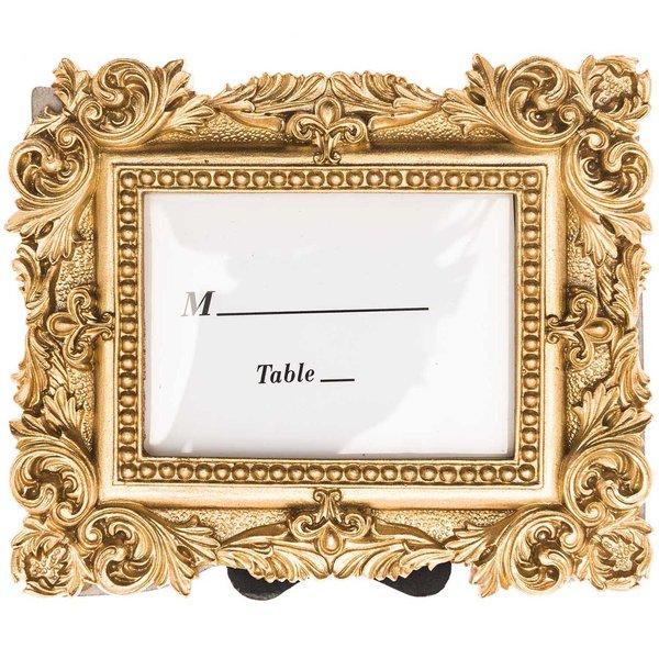 Bilderrahmen antik gold 11,6x9,6cm