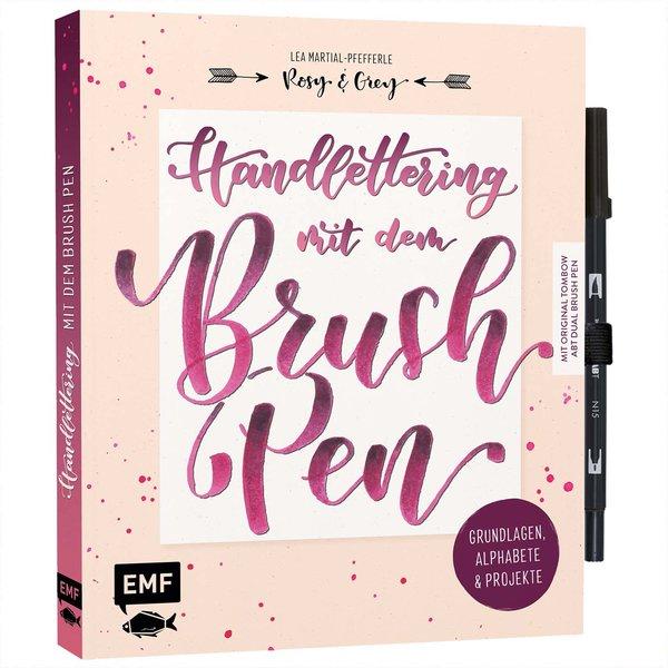 EMF Handlettering mit dem Brush Pen