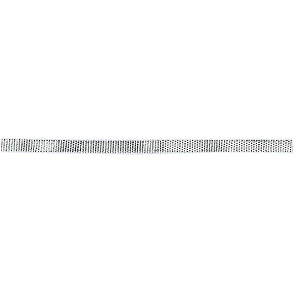 Laméband silber 3mm 10m