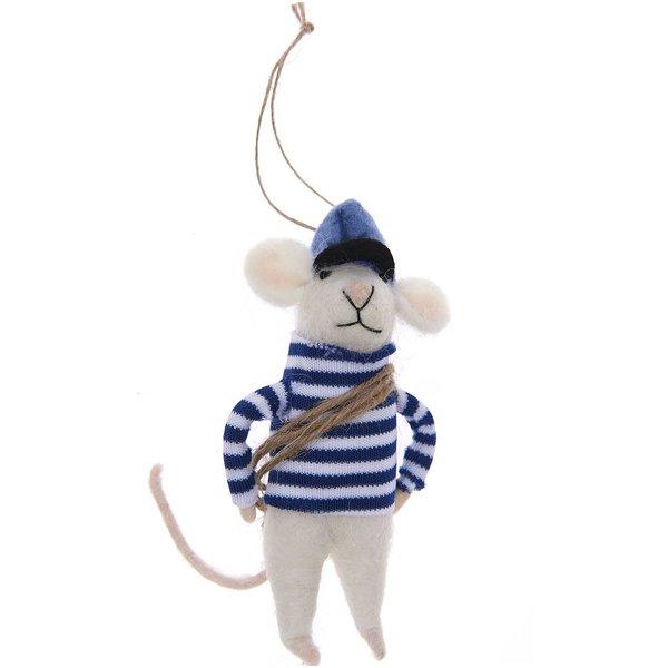 Ohhh! Lovely! Filzhänger Maus Seemann 12,5cm