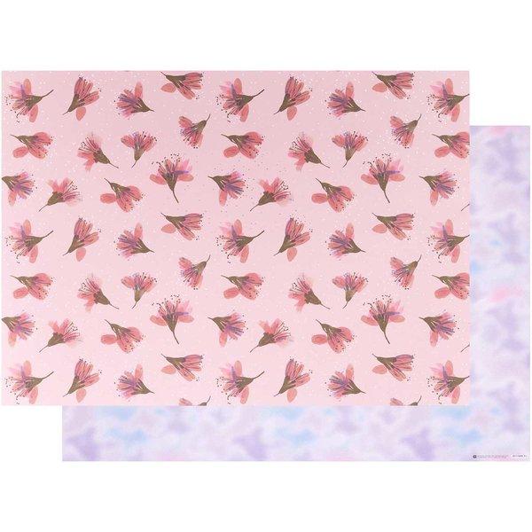 Paper Poetry Motivkarton Kirschblüten-Blurry 50x70cm