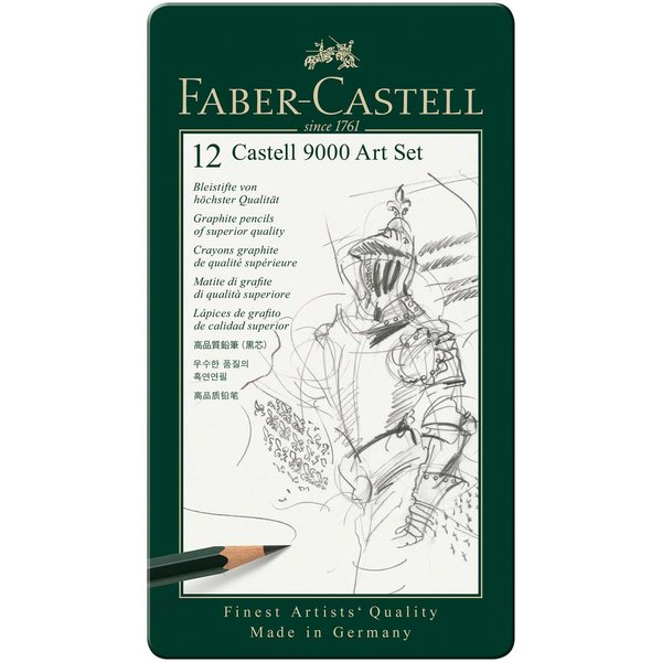 Faber Castell Faber Castell 9000 Art Set 12teilig