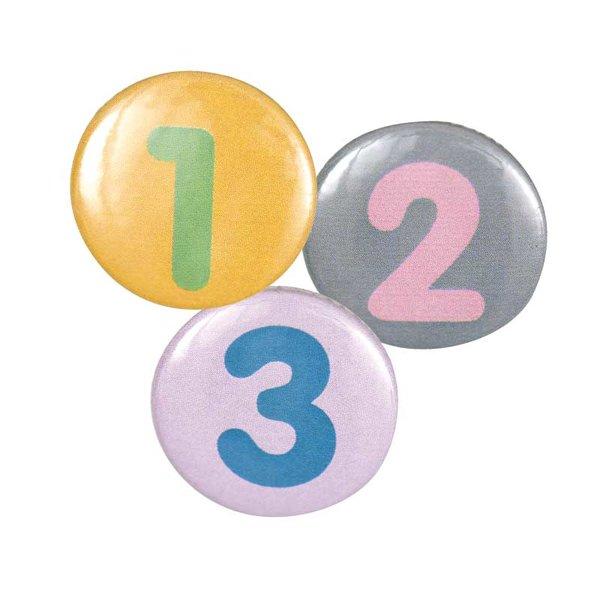 Rico Design Button Zahl