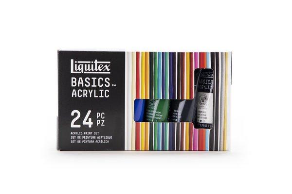 Liquitex Basics Acrylfarben Set 24x22ml