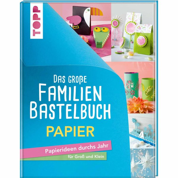 TOPP Familienbastelbuch Papier