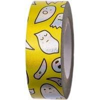 Paper Poetry Tape Gespenster gelb 15mm 10m