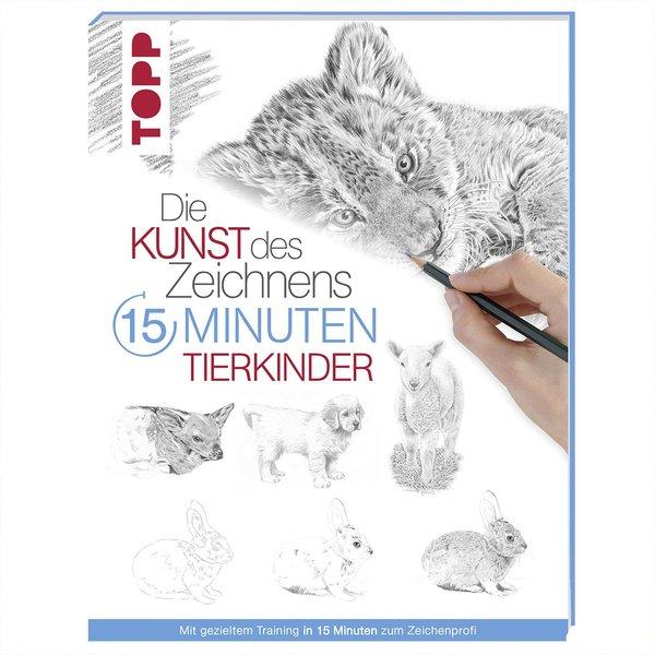 TOPP Kunst des Zeichnens 15 Minuten - Tierkinder