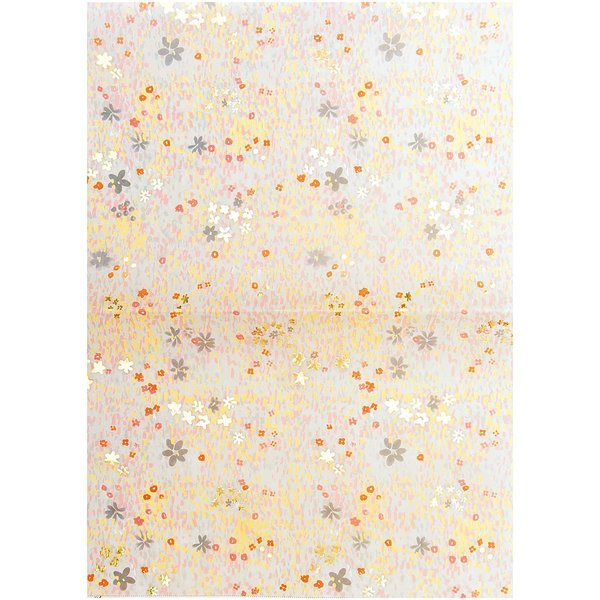 Paper Poetry Paper Patch Papier Blumenwiese blau 30x42cm