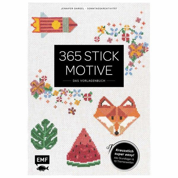 EMF 365 Stickmotive - Das Vorlagenbuch