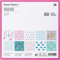 Paper Poetry Origami-Papier Wonderland 15x15 cm 50 Blatt