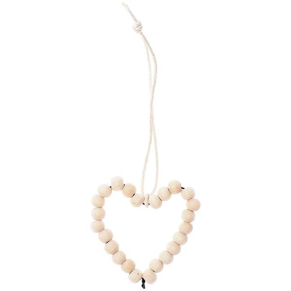 Ohhh! Lovely! Perlenhänger Herz M Holz