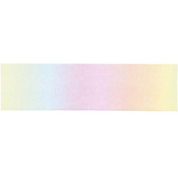 Ohhh! Lovely! Dekoband multicolor pastell 4cm 3m