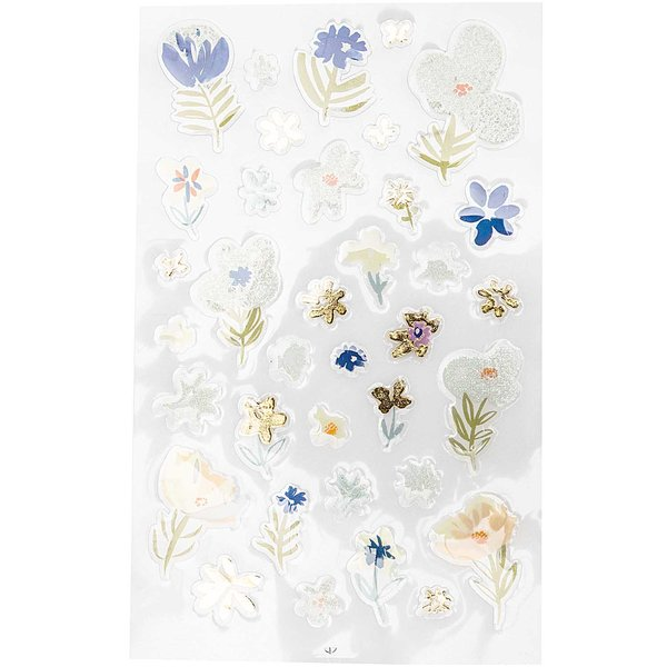 Paper Poetry Gelsticker Crafted Nature blau