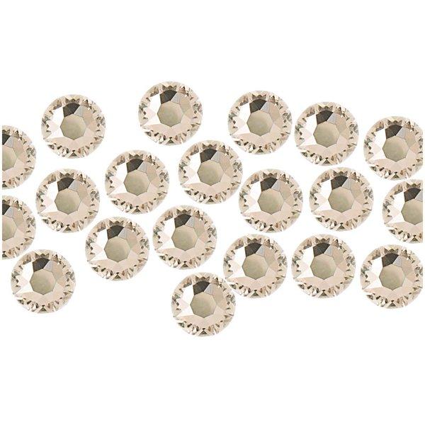 Swarovski® Hot Fix Steine crystal 4mm 20 Stück