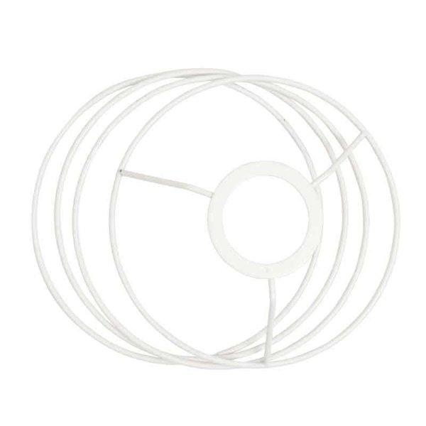 Rico Design Lampenschirmring Set rund