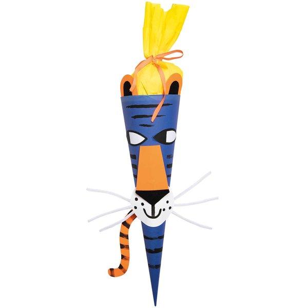 Rico Design Bastelset Schultüte Tiger