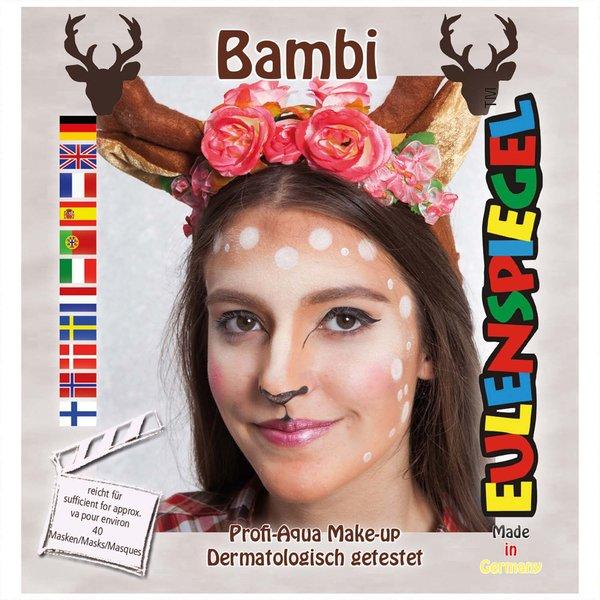 Eulenspiegel Schmink Set Bambi