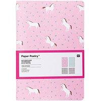Paper Poetry Notizbücher Wonderland A5 40 Seiten 2 Stück
