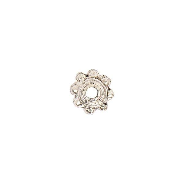 Jewellery Made by Me Perlkappe silber 5x3mm 6 Stück