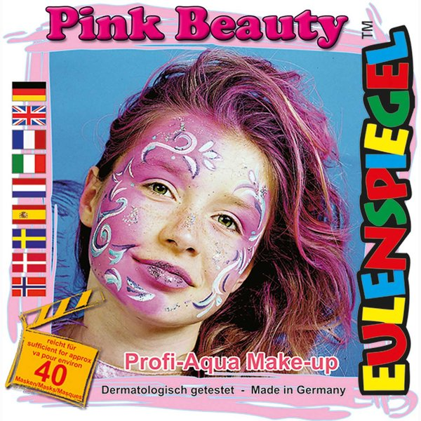 Eulenspiegel Schmink Set Pink Beauty