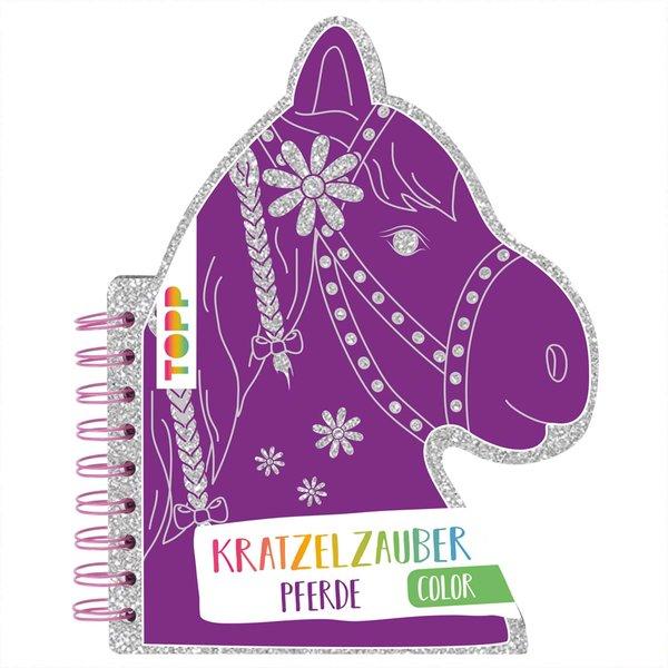 TOPP Kratzelzauber Color Pferde