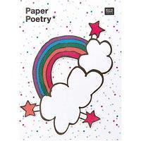 Paper Poetry Sticky Notes Regenbogen 50 Blatt