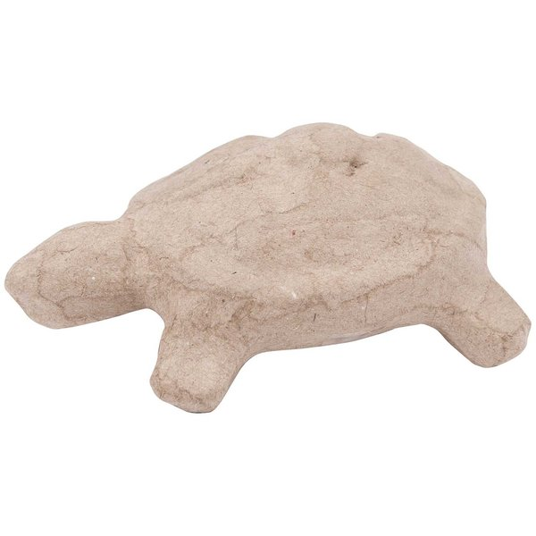 Rico Design Pappmaché Schildkröte klein 10,5x4x6,5cm
