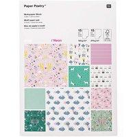 Paper Poetry Motivpapier Block Wonderland 30 Blatt