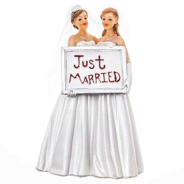 Hochzeitspaar Frauen just married 15cm