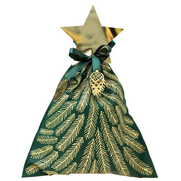 Paper Poetry Geschenktüte Nostalgic Christmas Tanne dunkelgrün 35x41cm