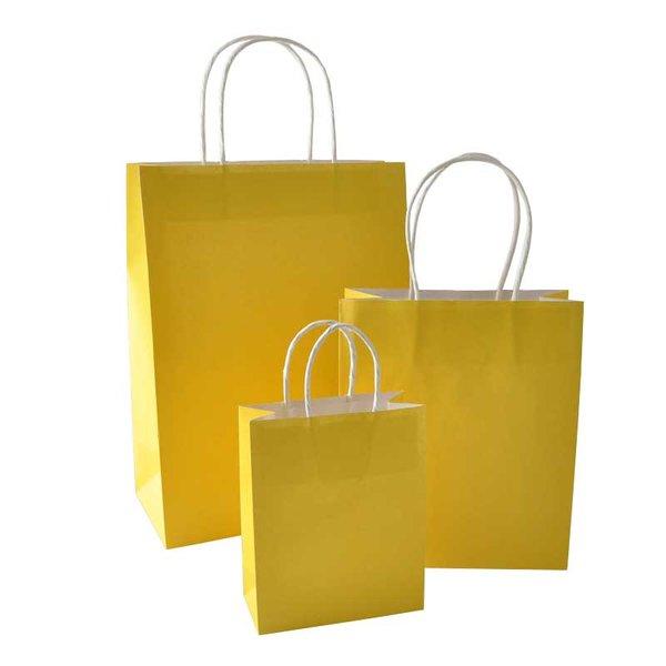 Rico Design Papiertüte gelb