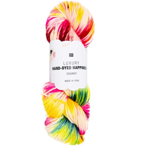 Rico Design Luxury Hand-Dyed Happiness chunky 100g 170m