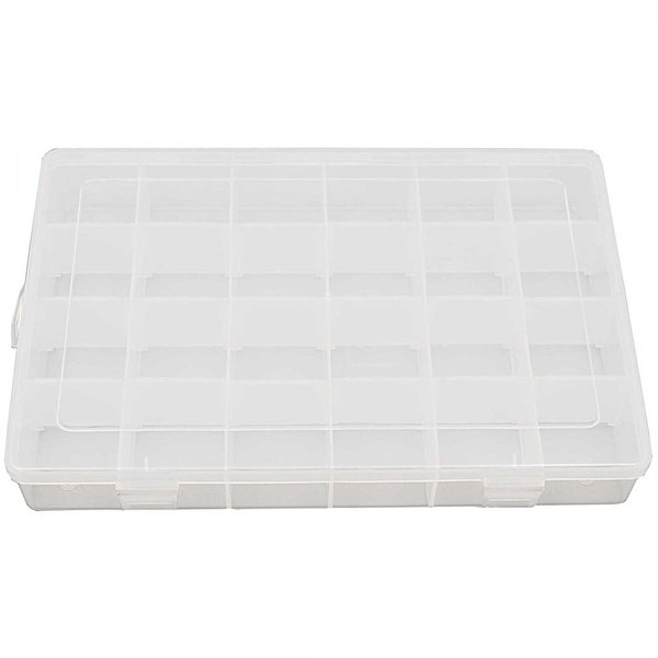 Rico Design Sortierbox mit 24 Fächern 27,5x18,8x4,4cm