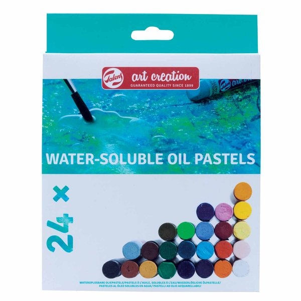 Talens Art Creation Wasserlösliche Ölpastelle Set 24 Farben