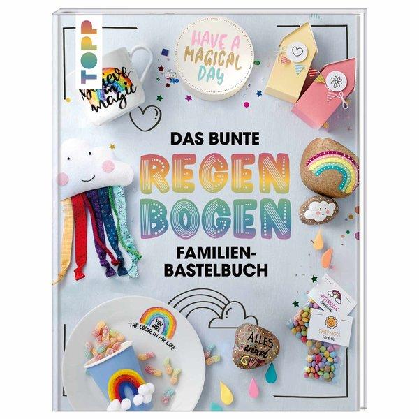 TOPP Das bunte Regenbogen Familien-Bastelbuch