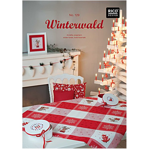 Rico Design Stickbuch Nr. 129 Winterwald