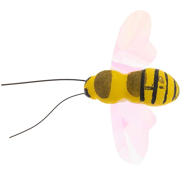Biene mit Clip 6x4,2cm