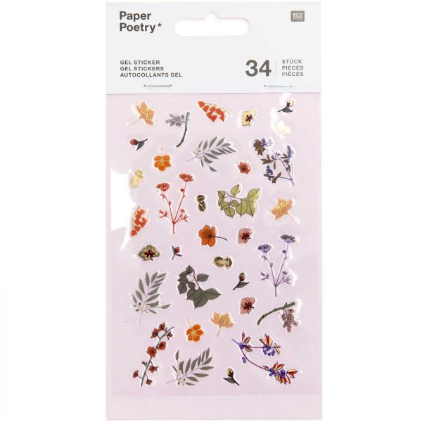 Paper Poetry Gelsticker Funny Fall