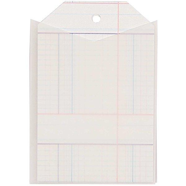 Paper Poetry Geschenkanhänger eckig mit Hülle 6 Stück