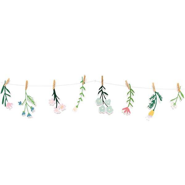 Paper Poetry Papieranhänger Bunny Hop Streublumen 8 Stück