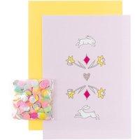 Paper Poetry Grußkartenset Wonderland Hasen