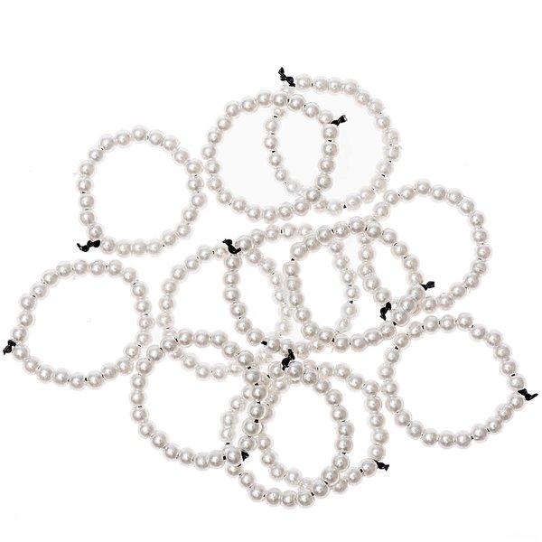 Ohhh! Lovely! Perlenstreu Ring perlmutt 12 Stück
