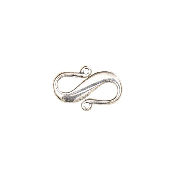 Jewellery Made by Me S-Verschluss 16x10mm 925er Silber