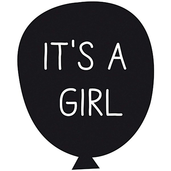 Rico Design Stempel It´s a girl 4x4cm