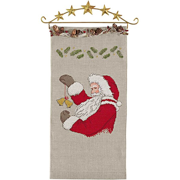 Rico Design Stickpackung Behang Nikolaus 20x40cm