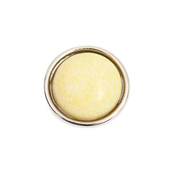 Rico Design Knopf Lemon Jade gelb 14mm