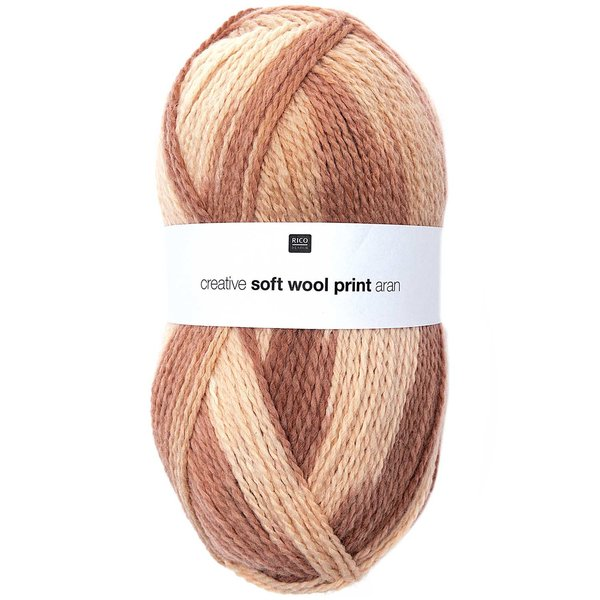 Rico Design Creative Soft Wool Print aran 100g 320m