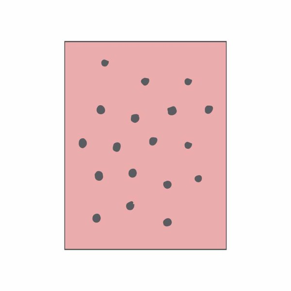 May&Berry Stempel Pattern 1 rosa 45x45mm