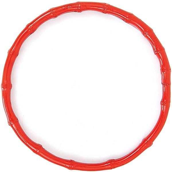 Rico Design Taschengriffe rund Bambus rot 22cm 2 Stück
